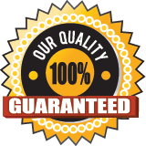 Our Quality is 100 Guaranteed